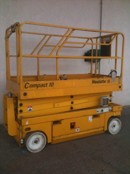 Piattaforma aerea verticale Haulotte Compact 10