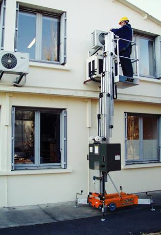 Sollevatori verticali a movimentazione manuale Serie PM