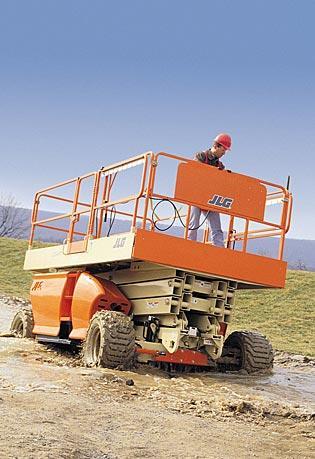 Sollevatori a braccio articolato diesel Serie RT 3394RT